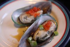 Ponzu Mussels