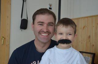 Movember Shane and Logan