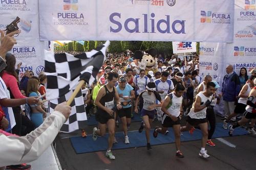 Maraton de Puebla 2011
