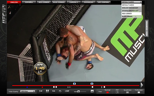 UFCTV player 3