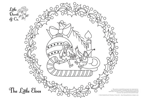 The Little Elves (freebie pattern)