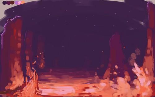 hot lava!