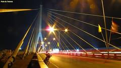 Rama 8 Bridge, Bangkok, Thailand.