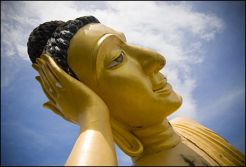 Buddha at Sri Sunthon Temple, Phuket