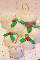 Christmas chocolate sponge cakes 3528 R