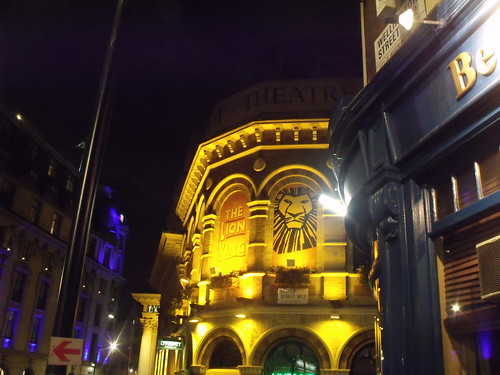 Lyceum Theatre - Wellington Street, London - The Lion King
