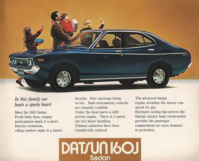 1973 Datsun 160j Violet Flickr Photo Sharing