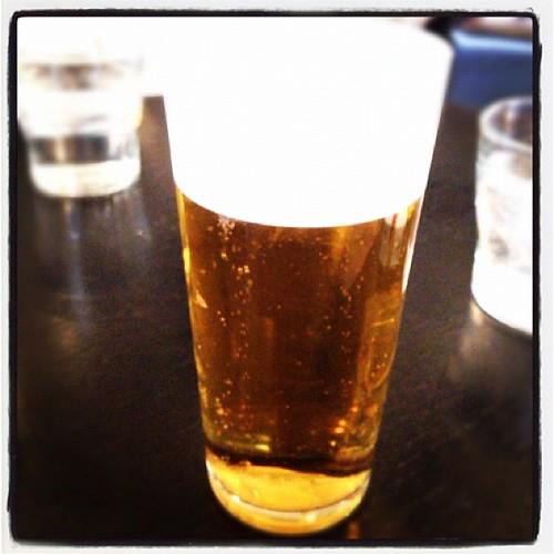 ランチビール。