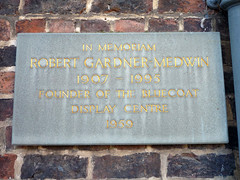 Photo of Stone plaque number 9107