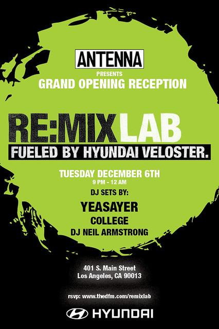 Antenna Re:MixLab LA
