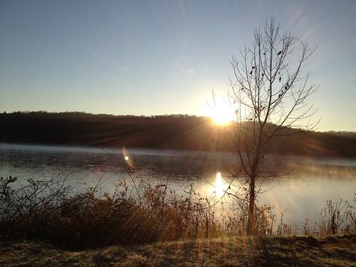 fall sunrise georgia dahlonega northgeorgia iphone4s