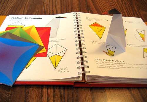 Origami 101 penguin