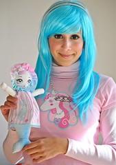 Mermaid Bunka Doll by Pink Macaroon Clothing