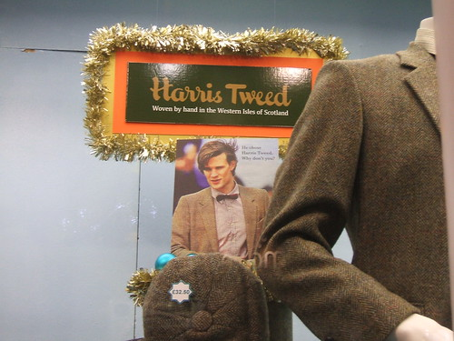 Harris Tweed display