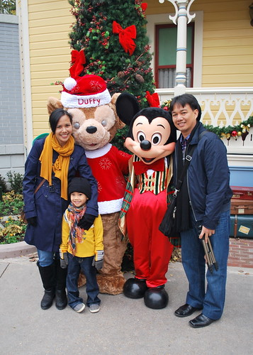 With Mickey and Duffy