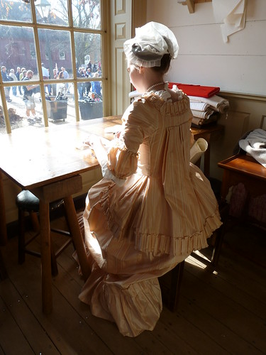Milliner's shop, Colonial Williamsburg