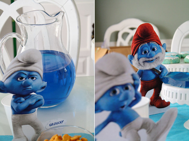 A Smurftastic Party