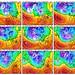 Globální předpovědní model na 9 dní, foto: GFS