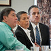 From left: Rick Chavez, President, Hispanic American Cultural Effort (HACE), Ida Hernandez, Coalition for Fairness for Hispanics in Government and Oscar Gonzales, Jr., Deputy Assistant Secretary for Administration listen to presenters during the facilitated discussion: Where Can You Assist? at the United States Department of Agriculture Hispanic Roundtable