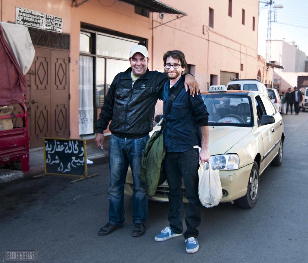 Marrakech taxi driver sfb