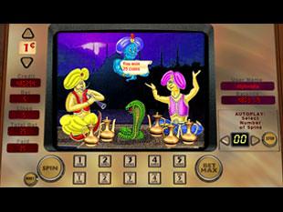Aladdin's Lamp free spins