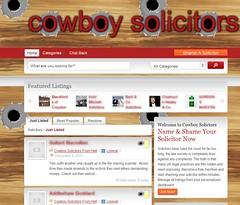 Cowboy Solicitors
