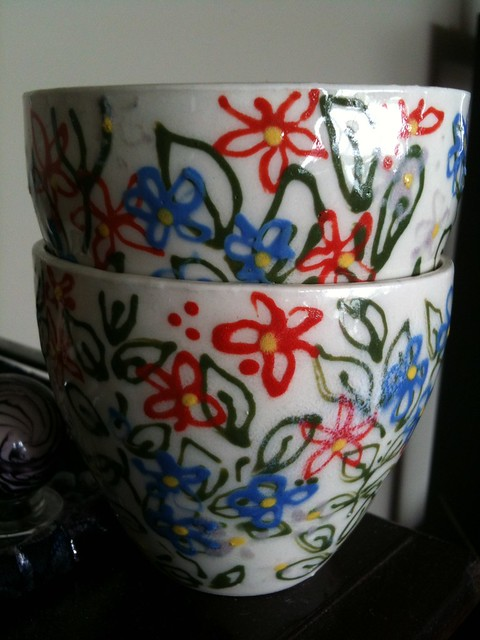 Header of teacups