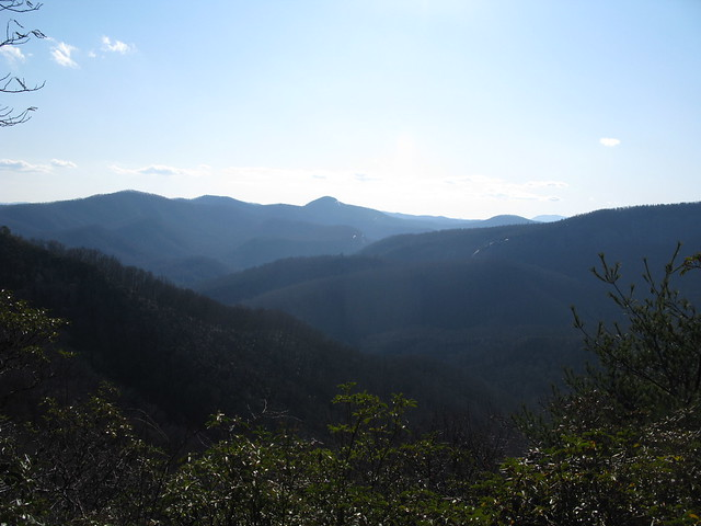 View from Bennett Gap Trail