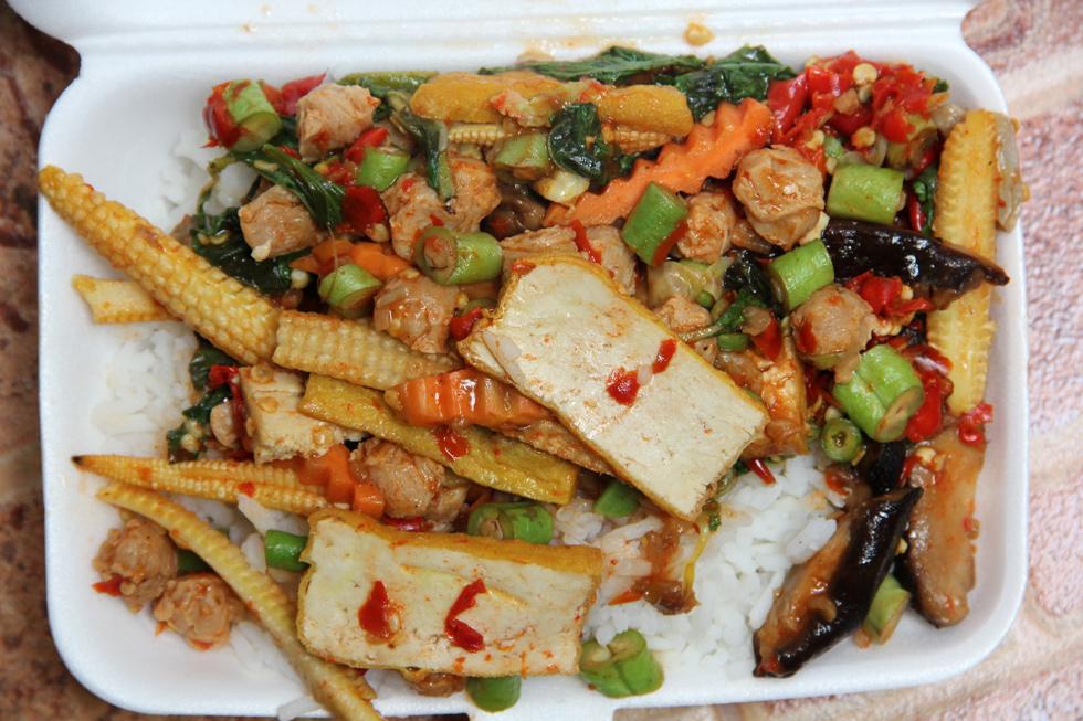 In Remembrance Of Thai Vegetarian Food