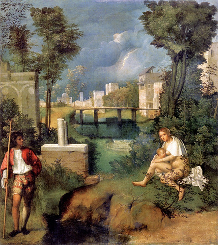 Giorgione - Tempest (1508) by petrus.agricola