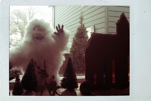 abominable snowman says, no pictures please