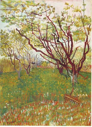 The Flowering Orchard - Van Gogh 1888
