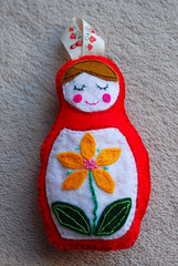 Evie's Christmas ornament