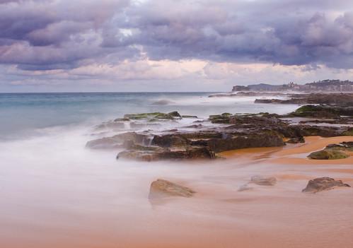 longexposure sea cloud storm 20d beach water canon eos coast rocks australia nsw slowshutter centralcoast edwin headland wamberal emmerick edwinemmerick