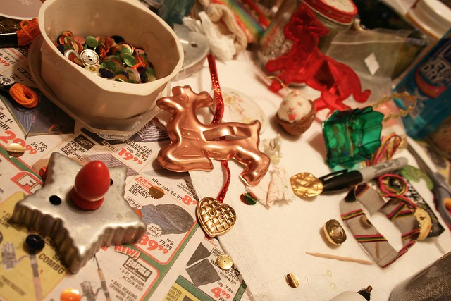 Xmas Craft Table