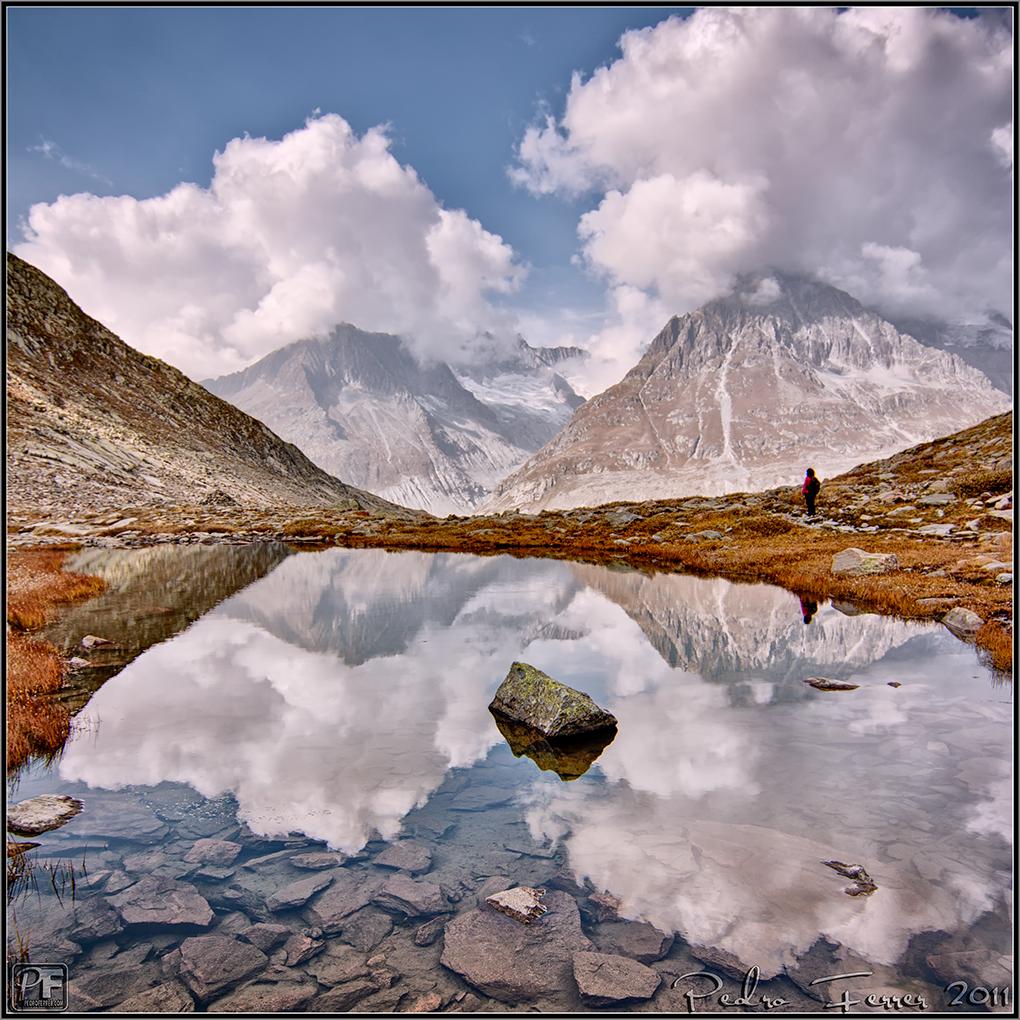 Suiza - Las montañas - Marjelensee