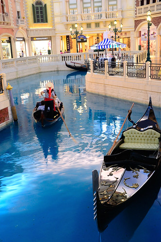 Gondola in The Venetial Macao, Macau