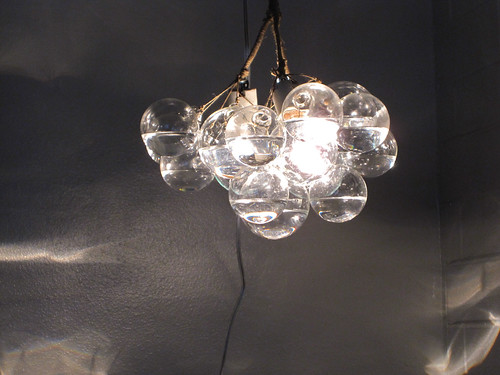 Turning Toward DIY Special A Bubble Chandelier