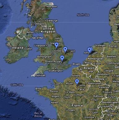 2011 Europe cities