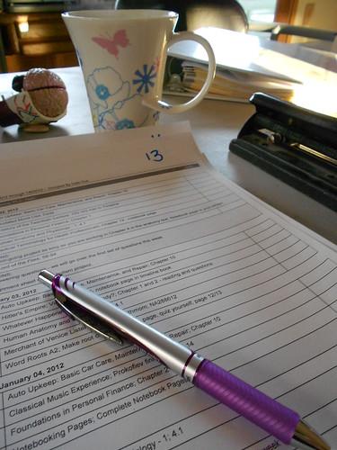 Planning with Homeschool Tracker