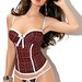 Plaid Corset Set
