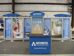 10 x 20' Rental display