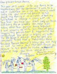 A child's letter from Georgia