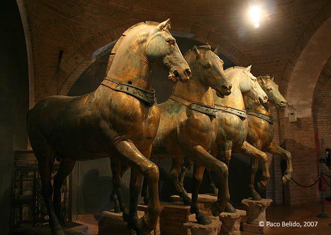 Caballos de Constantino. © Paco Bellido, 2007