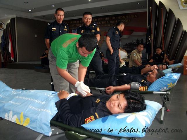 customs blood donation