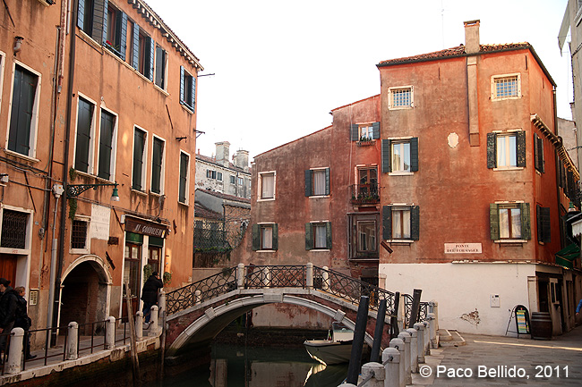 Canales venecianos. © Paco Bellido, 2011