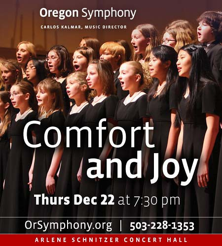 Thursday: Comfort And Joy @ Arlene Schnitzer