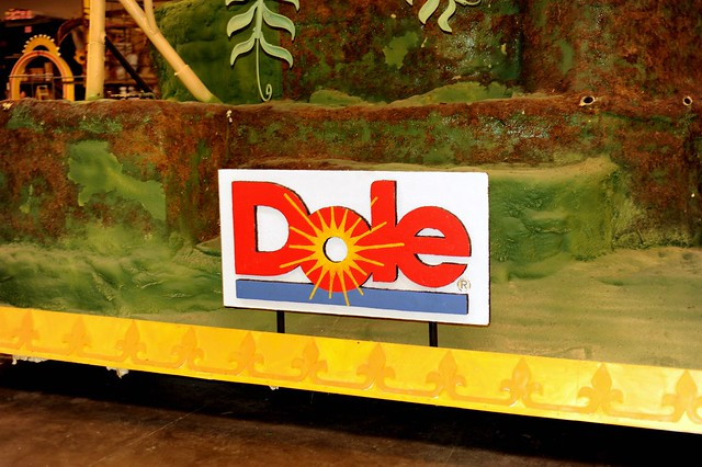 Dole's 2012 Rose Parade Float