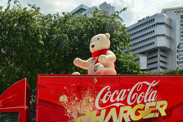Coca-Cola Christmas at Orchard Cineleisure, Singapore