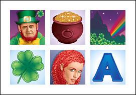 free Emerald Isle slot game symbols